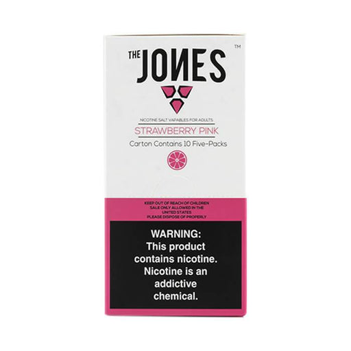 The Jones Pods Strawberry Pink #1