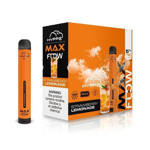 Strawberry Lemonade Disposable Device by Hyppe Max Flow