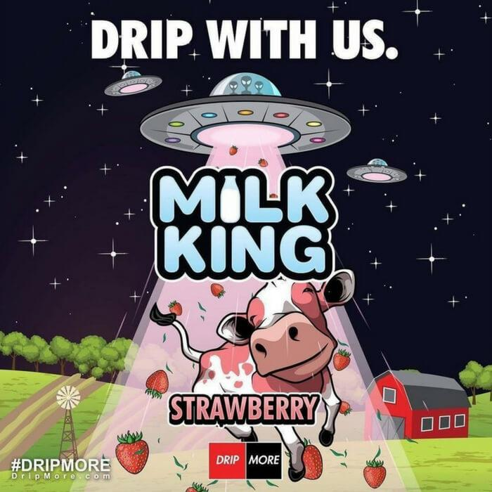 Strawberry by Milk King eJuice #1