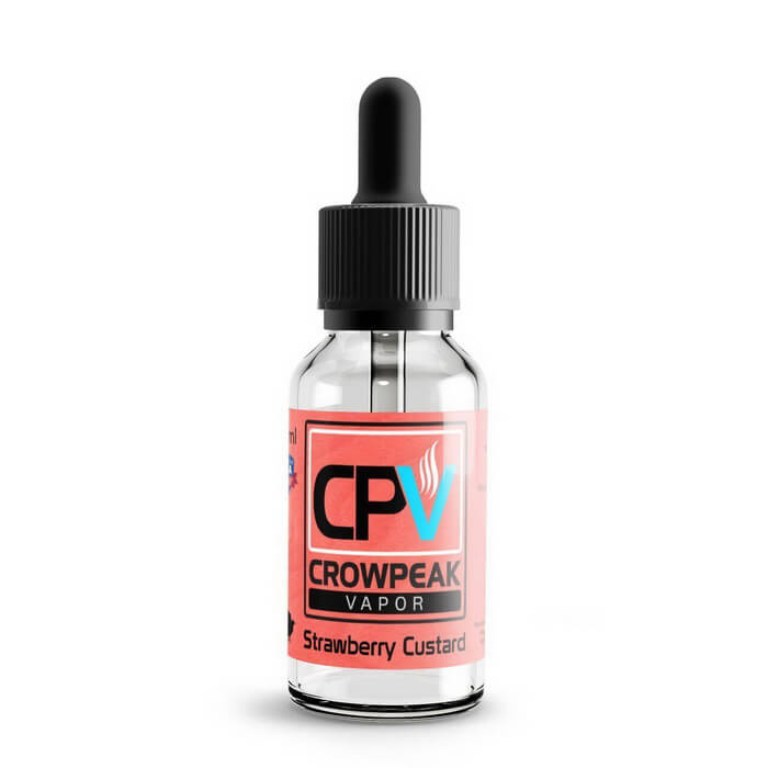 Strawberry Custard by Crow Peak Vapor eJuice #1