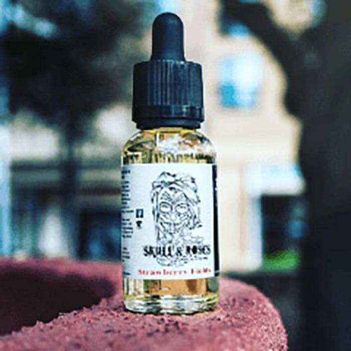 Strawberry Fields by Skull & Roses Juice Co. eJuice #1