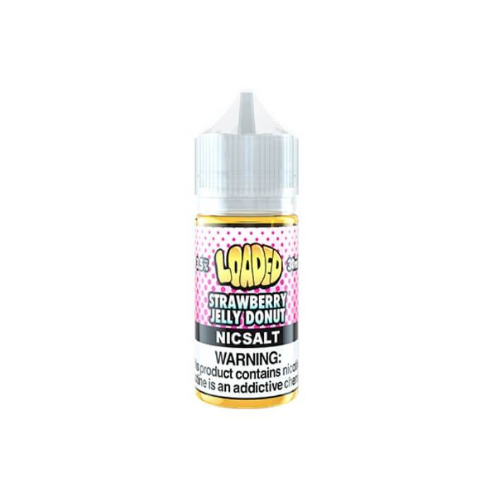 Strawberry Jelly Donut by Loaded Nicotine Salt E-Liquid