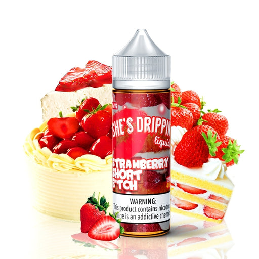 Strawberry Short B*tch by She's Drippin E-Liquid #1