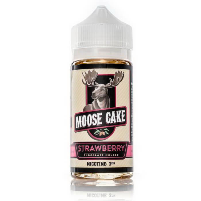 Strawberry by Moose Cake eJuice #1