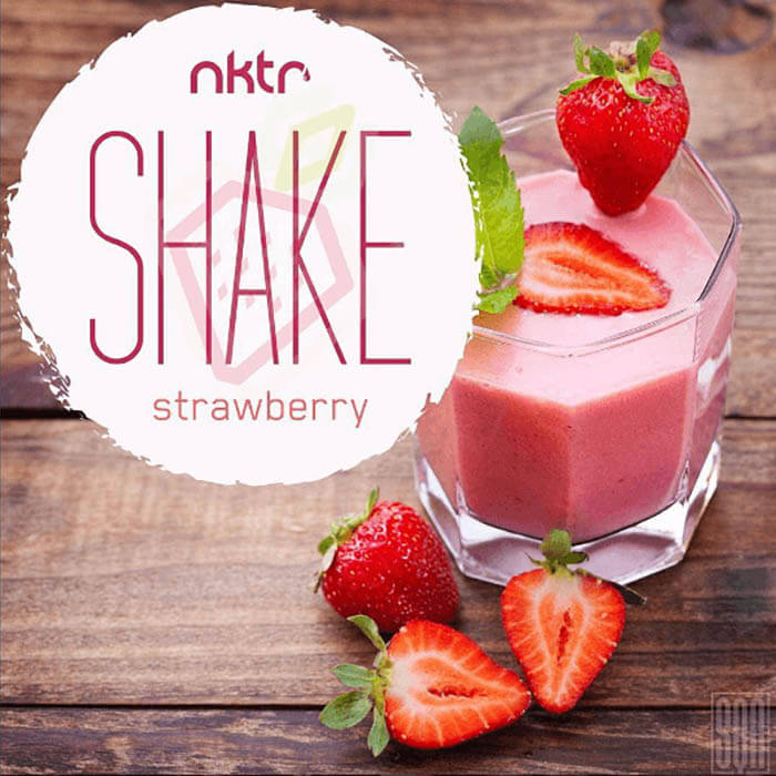 Strawberry by NKTR Vapor Shake eJuice #1