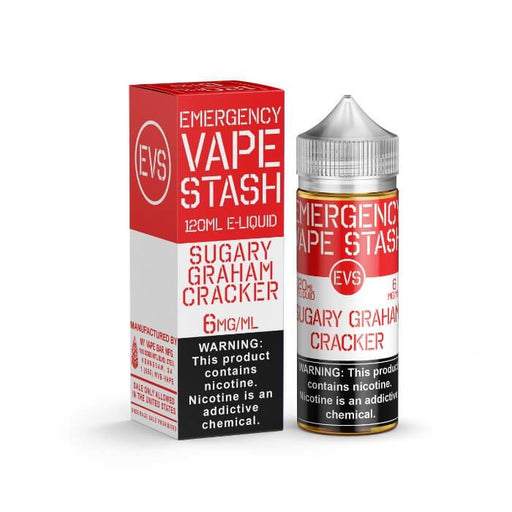 Sugary Graham Cracker by Emergency Vape Stash E-Liquid #1