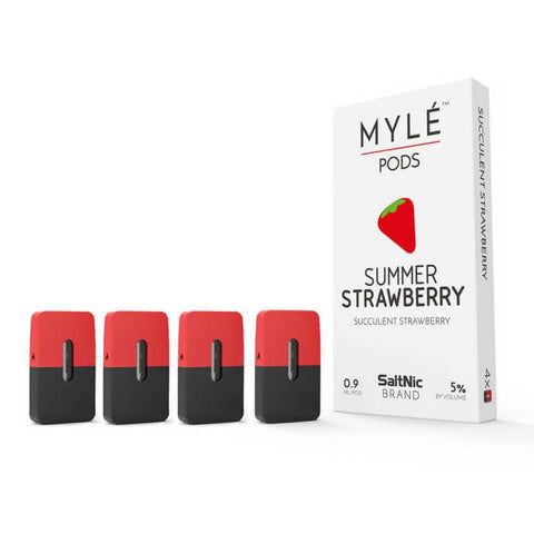 Summer Strawberry Pod by Myle Vaping Hardware #1