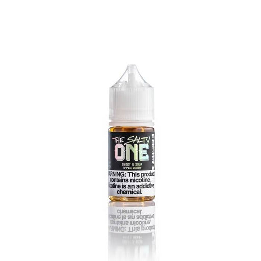 Sweet & Sour Apple Berry Nicotine Salt by The Salty One E-Liquid