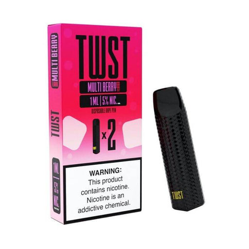 Twist Multi Berry Disposable Device (Twin Pack)