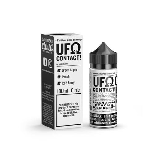 UFOhm Contact by Caribbean Clouds eJuice