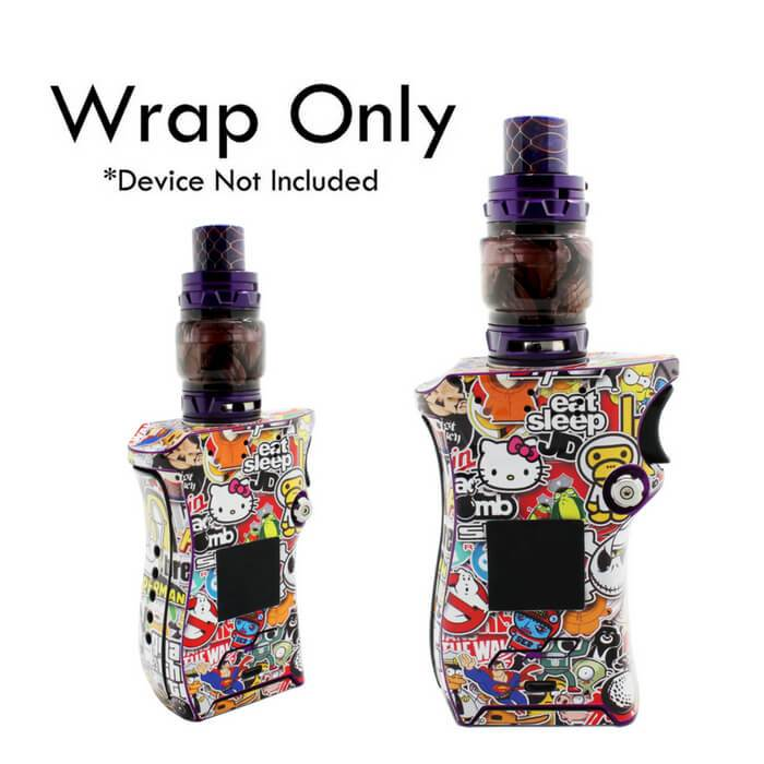 VCG Smok Mag Kit Wraps: Sticker Bomb #1