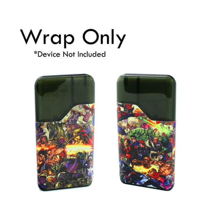 VCG Suorin Air Wraps: Superhero Battle #1