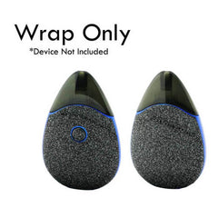 VCG Suorin Drop Wraps: Black glitter