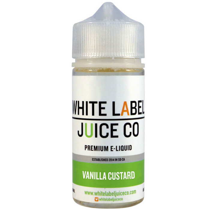 Vanilla Custard by White Label Juice Co #1