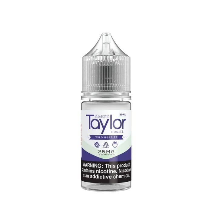 Wild Berries by Taylor Flavors Nicotine Salt E-Liquid