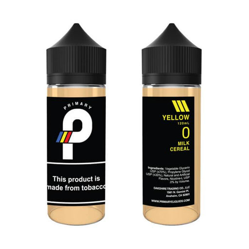 Yellow by Primary E-Liquid #1