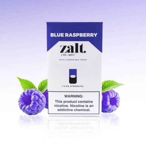 Zalt Pods Blue Raspberry