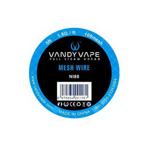 Ni80 Mesh Wire Spool by Vandy Vape (5 Feet) #1