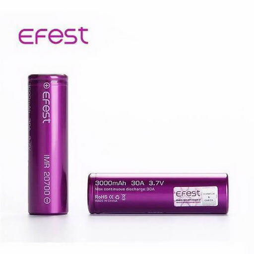Efest IMR 20700 LiMn 3000mAh [30A] Battery #1