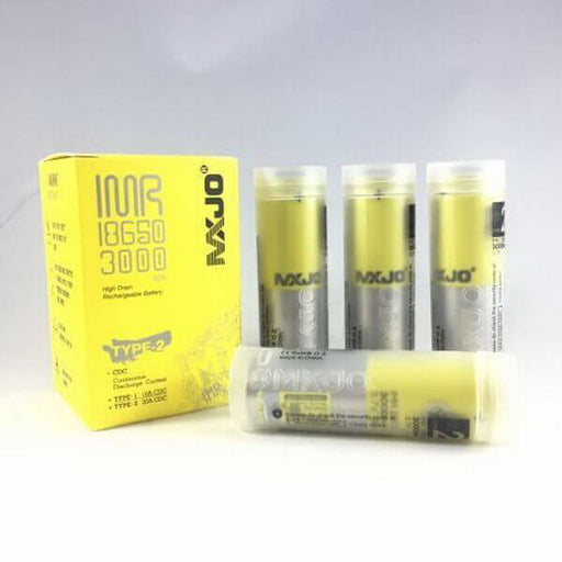 MXJO IMR18650 3000mah 35A Type-2 Batteries (Pack of 4) #1