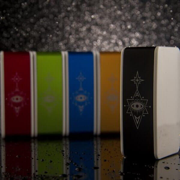 Wake LittleFoot 60W TC Box Mod (White Panel) #1