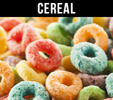 Cereal e Liquid and eJuice