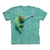 The Mountain Climbing Chameleon Adult Unisex T-Shirt