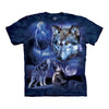 The Mountain Wolves of the Storm Adult Unisex T-Shirt-Cyberteez