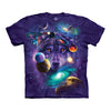 The Mountain Wolf Of The Cosmos Adult Unisex T-Shirt-Cyberteez