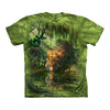 The Mountain Enchanted Tiger Adult Unisex T-Shirt-Cyberteez