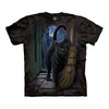 The Mountain Brush With Magic Cat Adult Unisex T-Shirt-Cyberteez