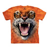 The Mountain Roaring Big Tiger Face Adult Unisex T-Shirt-Cyberteez