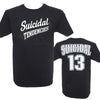 Suicidal Tendencies 13 Logo T-Shirt (S-3XL)-Cyberteez