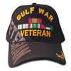 Gulf War Veteran Hat Black Adjustable Cap-Cyberteez