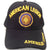 American Legion Insignia Seal Logo Hat Black Adjustable Cap