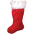 "Santa Claus Christmas Stocking BIG 22"" Inch Regal Plush Felt Boot"
