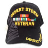 Desert Storm Veteran Hat Black Adjustable Cap-Cyberteez