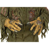 Jason Voorhees Hands Gloves Latex Mens Deluxe Friday The 13th Costume Accessory-Cyberteez