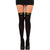 Batgirl Women's Thigh High Batman Logo Costume Leggings Stockings w/ Bow