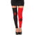 Harley Quinn Two-Tone Women's Thigh High Leggings Stockings