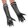 Black Panther Gloves Men's Adult Costume Accessory-Cyberteez