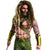 Batman Vs Superman Men's Aquaman Beard and Wig Set
