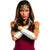 Wonder Woman Adult Gauntlets Tiara Crown And Glovelets Armband Set