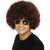 70's Funky Brown Men's Afro Costume Wig