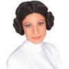 Star Wars Princess Leia Women's Costume Wig w/ Hair Buns-Cyberteez