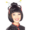 Geisha Girl Women's Costume Wig Asian Lady Oriental Japanese Fashion Accessory-Cyberteez