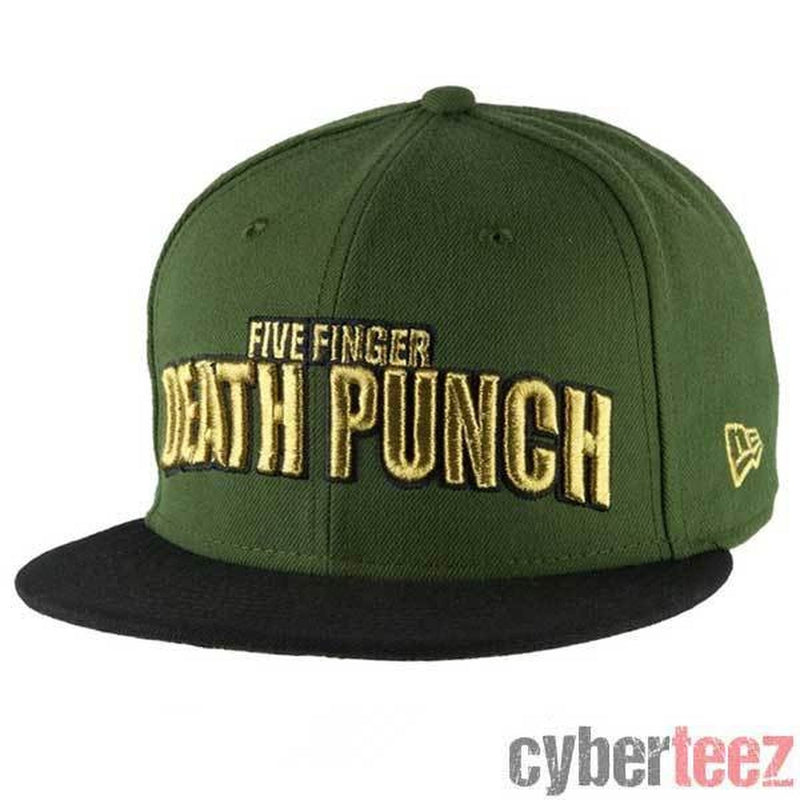 Five Finger Death Punch War Is The Answer Snapback Hat