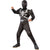 Agent Venom Costume Boys Kids Child Deluxe Muscle Chest Jumpsuit w/ Belt