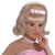 50's Women's Blonde Bouffant Costume Wig