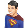 Superman Wig Men's Deluxe Vinyl Costume Accessory-Cyberteez
